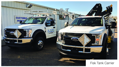 BPN profiles popular safety and comfort options on propane truck Chassis FISK and other leading manufacturers profiled propane autogas trucks 031720