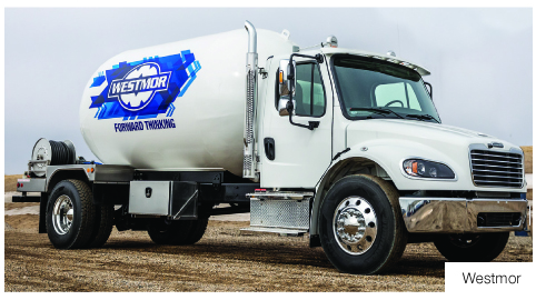 BPN the propane industry leading source for news since 1939 profiles popular new safety and comfort features of lpg autogas Chassis WESTMOR leading mfg