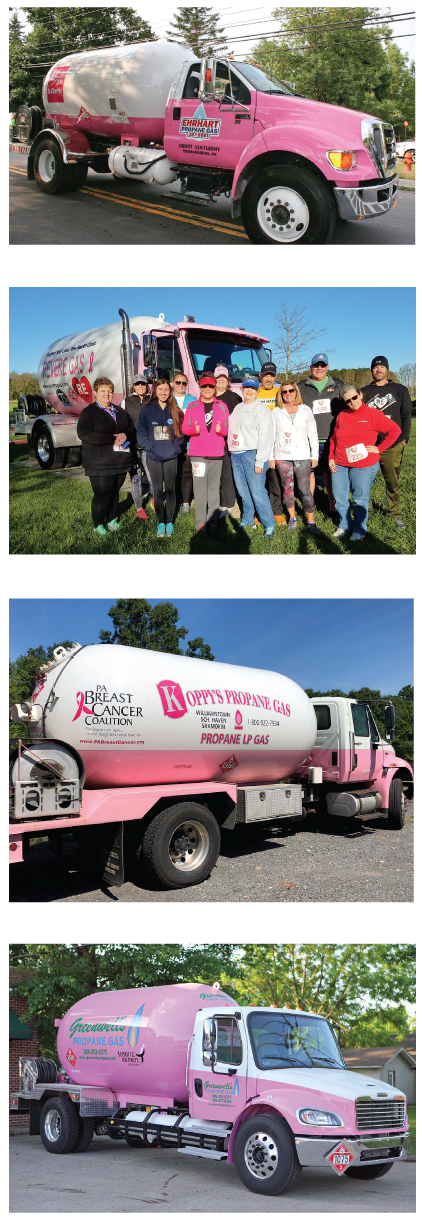Pink Propane Delivery Trucks raise funds for breast cancer awareness, research, and treatment. Butane Propane NEws (BPN) the propane industry's leading source for news and information since 1939.