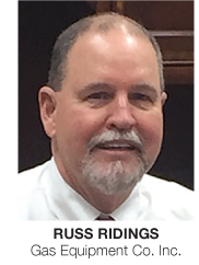 Propane People Russ Ridings joins Gas Equipment Co (GEC) reports BPN 11-20