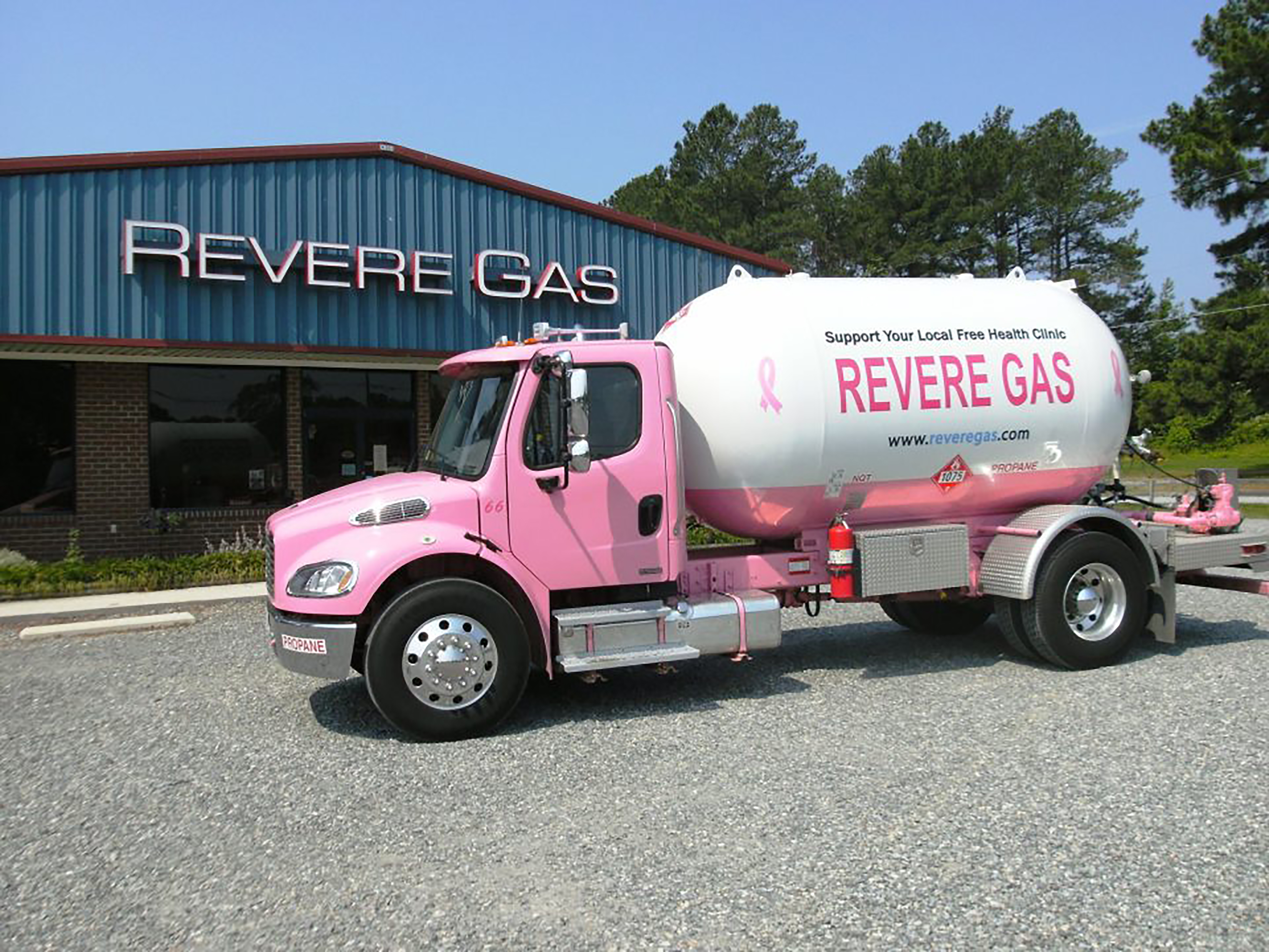 Revere Gas Breast Cancer Support