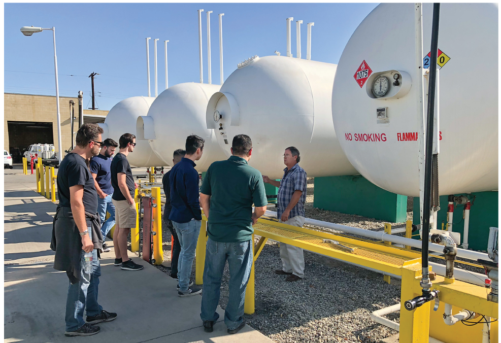 Ted Johnson Propane Reaches College Students With LPG Service Tech Courses