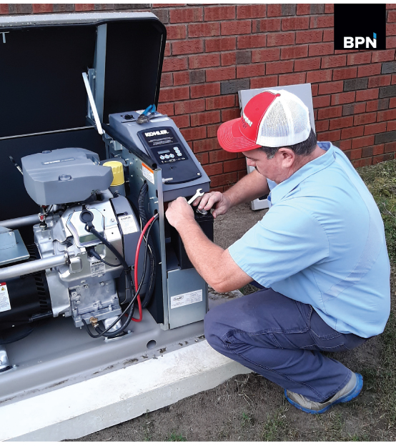 Tidewater Energy in NC reports to BPN sales of propane standby generators soaring due to covid power grid fears reports BPN 1220