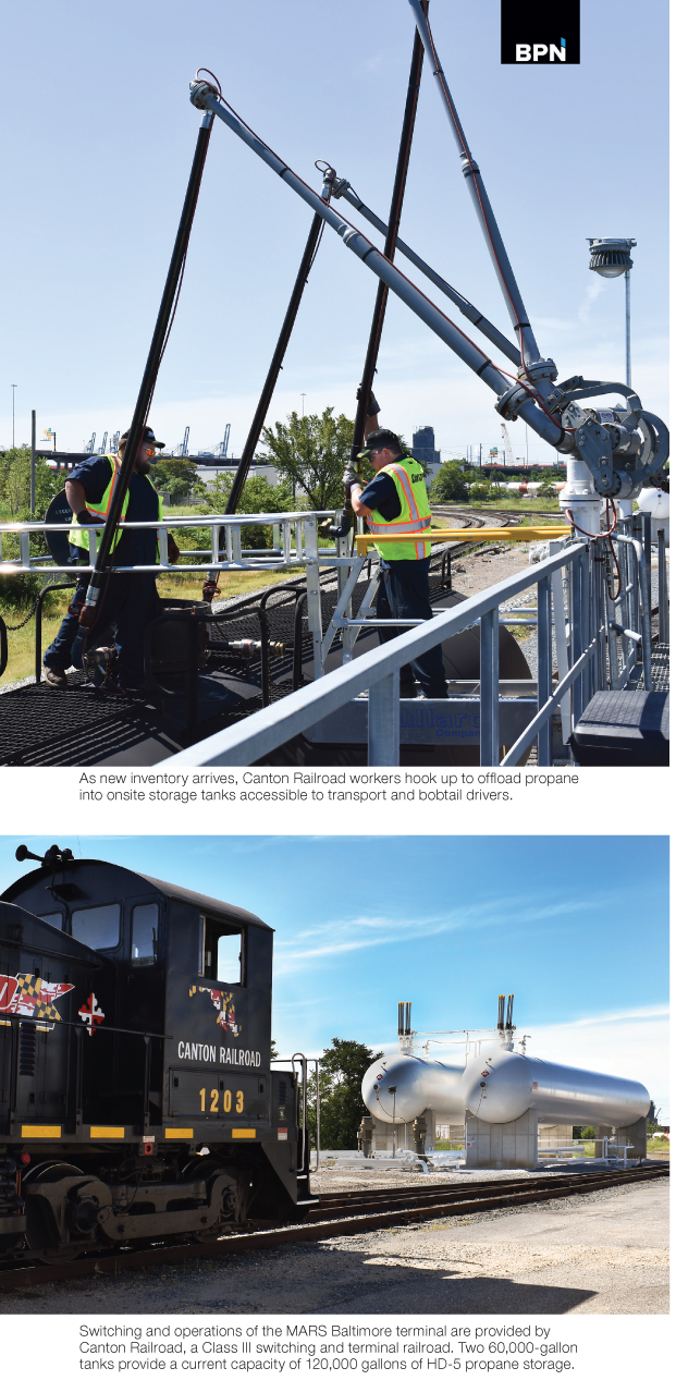 Tri Gas & Oil Builds new Propane Terminal in Baltimore reports BPN propane industry leading source for news info since 1939