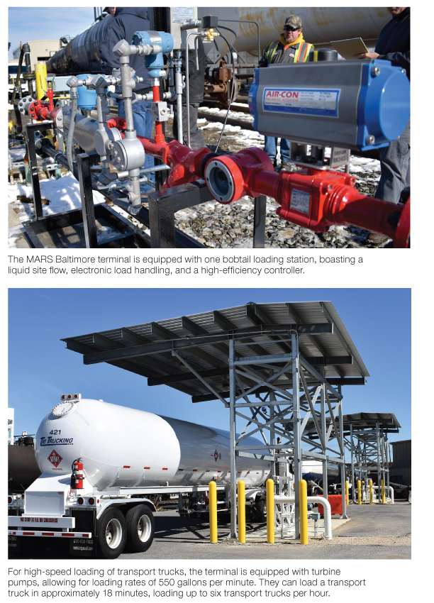 Tri Gas Oil builds new Propane terminal in Baltimore reports BPN the propane industry's leading source for news and info since 1939. Aug. 2019