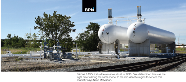 Tri Gas & Oil build new propane terminal in Baltimore reports Butane-Propane News the propane industry leading source for news info since 1939